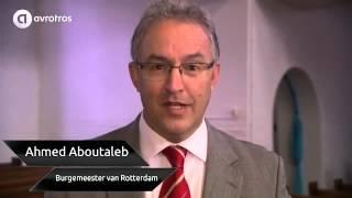 Burgemeester Aboutaleb kijkt met belangstelling uit naar Flikken Rotterdam