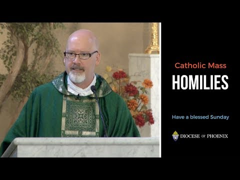 Fr. Lankeit's Homily for May 13, 2018