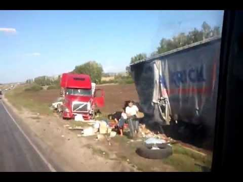 Samara Truck Car Crash Krick Spedition Angle 5