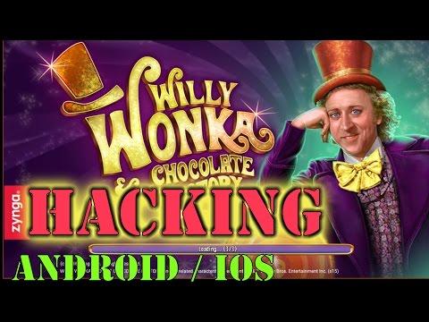 Game Slots Willy Wonka iOS/Android hacking daily bonus