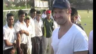 Shane Watson Visit to Udaipur