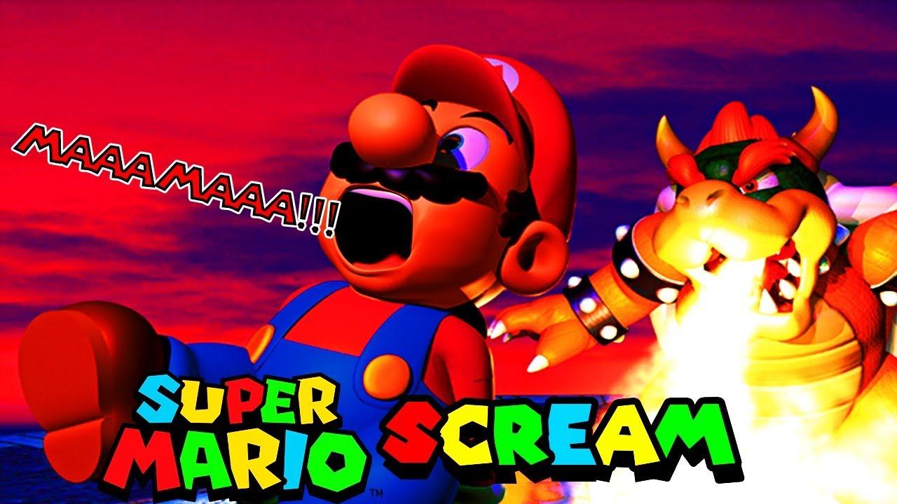 MARIO SCREAMING
