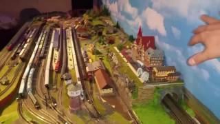 Spur N Modellbahn Die Stadt ist fast fertig / Tanklager angefangen