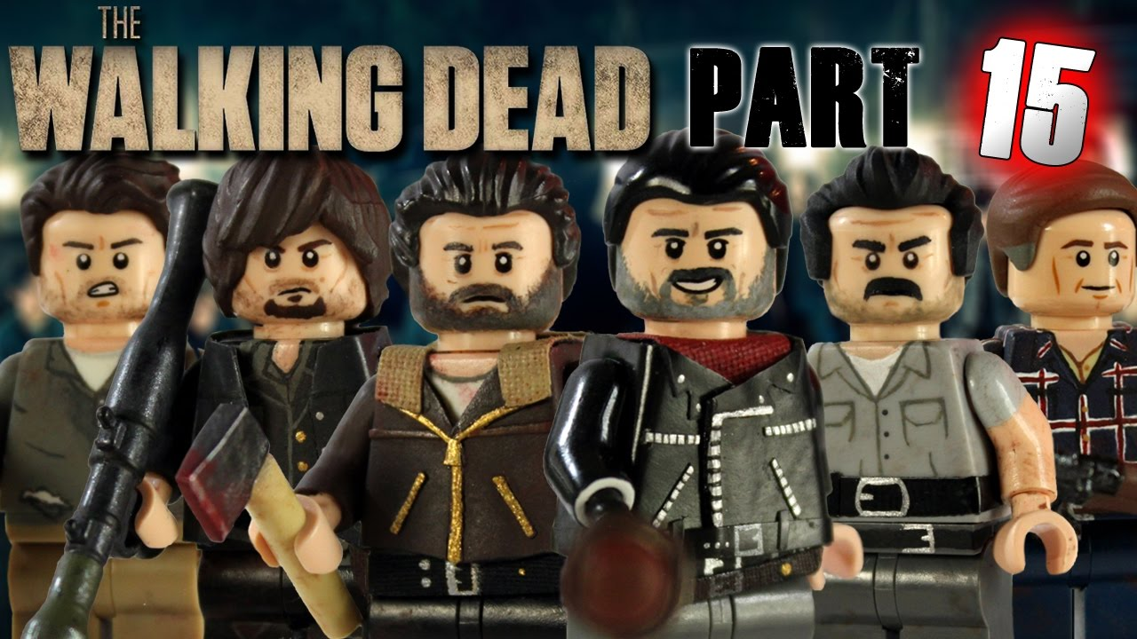 Walking dead lego daryl the walking - Walking Dead Lego Daryl The Walking 11