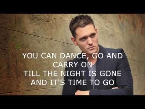 Save the last dance for me - Michael Bublè karaoke original key