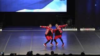 Team Japan [Hip Hop Doubles Semis - 2017 ICU World Cheerleading Championship]