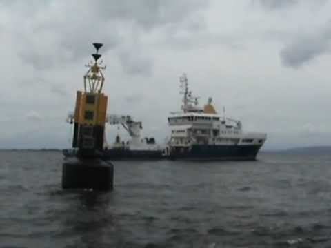 Galway Buoy in position in Galway Bay thumbnail