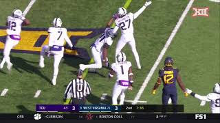 West Virginia vs. TCU Football Highlights