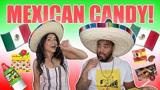 AMERICAN BOYFRIEND TRIES MEXICAN CANDY!! *HILARIOUS* | The Life of K&K
