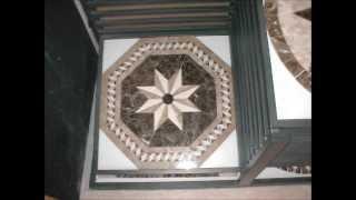 Designer Tile Plus Octagon Medallions