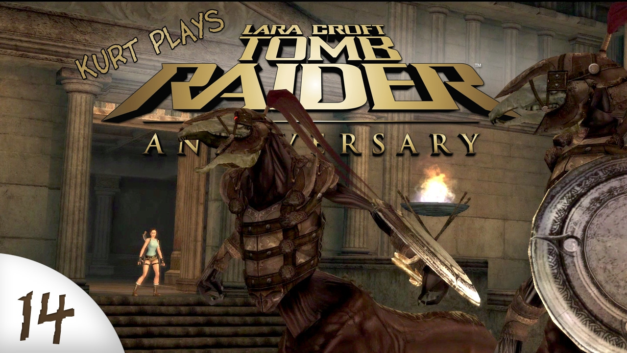 Tomb Raider Anniversary 14 Centaur Glitch Youtube