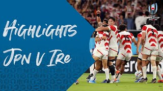 HIGHLIGHTS: Japan 19-12 Ireland - Rugby World Cup 2019