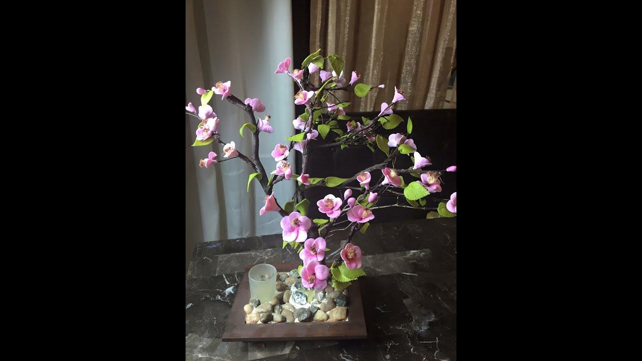 Ramas De Arbol Decoradas Con Flores