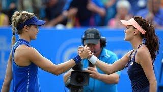 2016 Aegon International Day 4 WTA Highlights