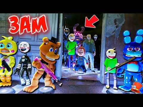 DO NOT PLAY FNAF KINDERGARTEN AT 3AM! (GTA 5 Mods FNAF RedHatter)