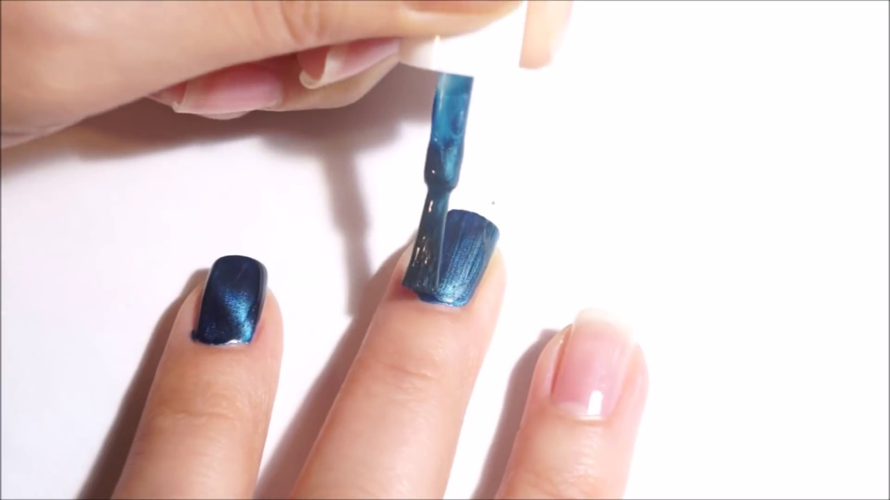Magnetic Polish, aka Cat Eye Nails - Bow Polish Smile in Your Sleep ...