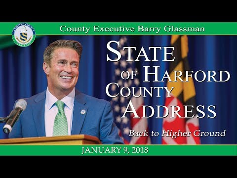 Back to Higher Ground...County Executive Glassman's State of the County Address