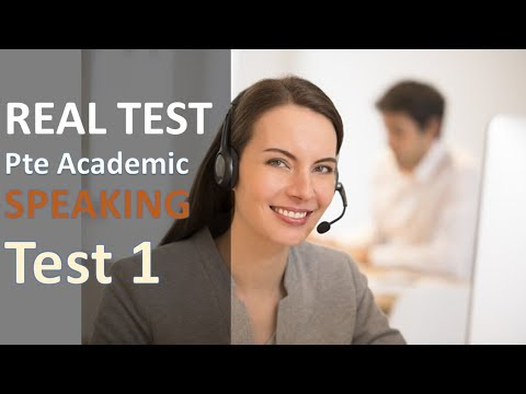 PTE Practice Speaking series 2 Test 1: from real test quetions with transcript