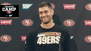 Jimmy Garoppolo: 'We Have an Opportunity to Do Something Special' | 49ers
