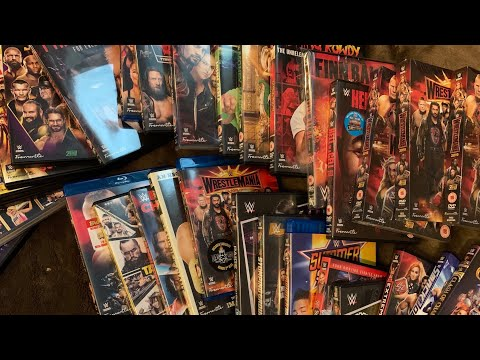 WWE DVD & Blu-ray Year In Review Collection 2019 UK