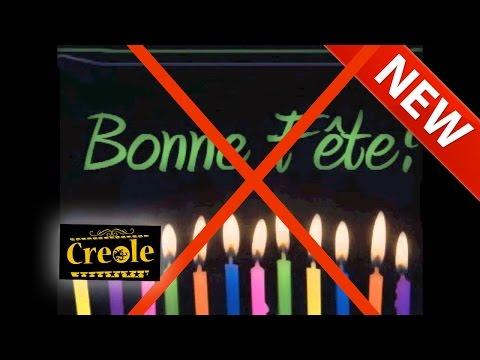 (Créole) Nou Pa Suposé Sélébre Fet Nésans (We should not celebrate birthdays)