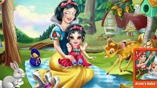 Snow White Игры—Малыш Белоснежки—Онлайн Видео Игры Для Детей Мультфильм 2015