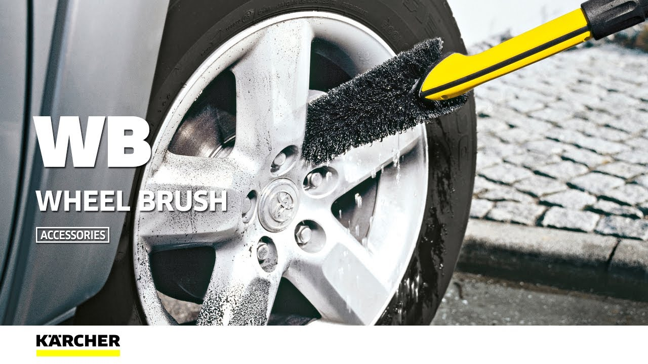 FOR PRESSURE WASHERS 2.643.234.0 BIKE CAR KARCHER WHEEL WASHING BRUSH