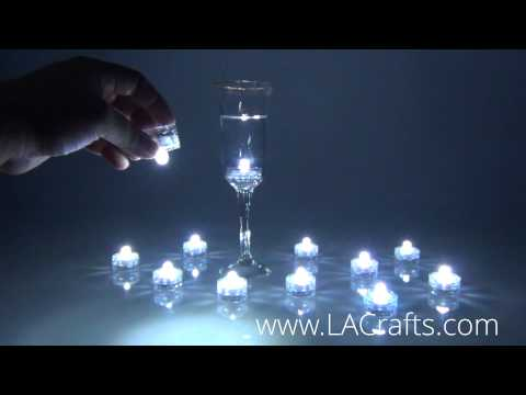 """1"""" Round Submersible Bright LED Light (Waterproof) from LACrafts.com"""