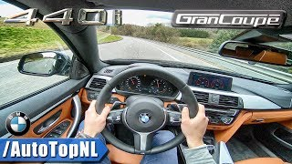BMW 4 Series 2018 440i Gran Coupe xDrive M Sport POV Test Drive by AutoTopNL
