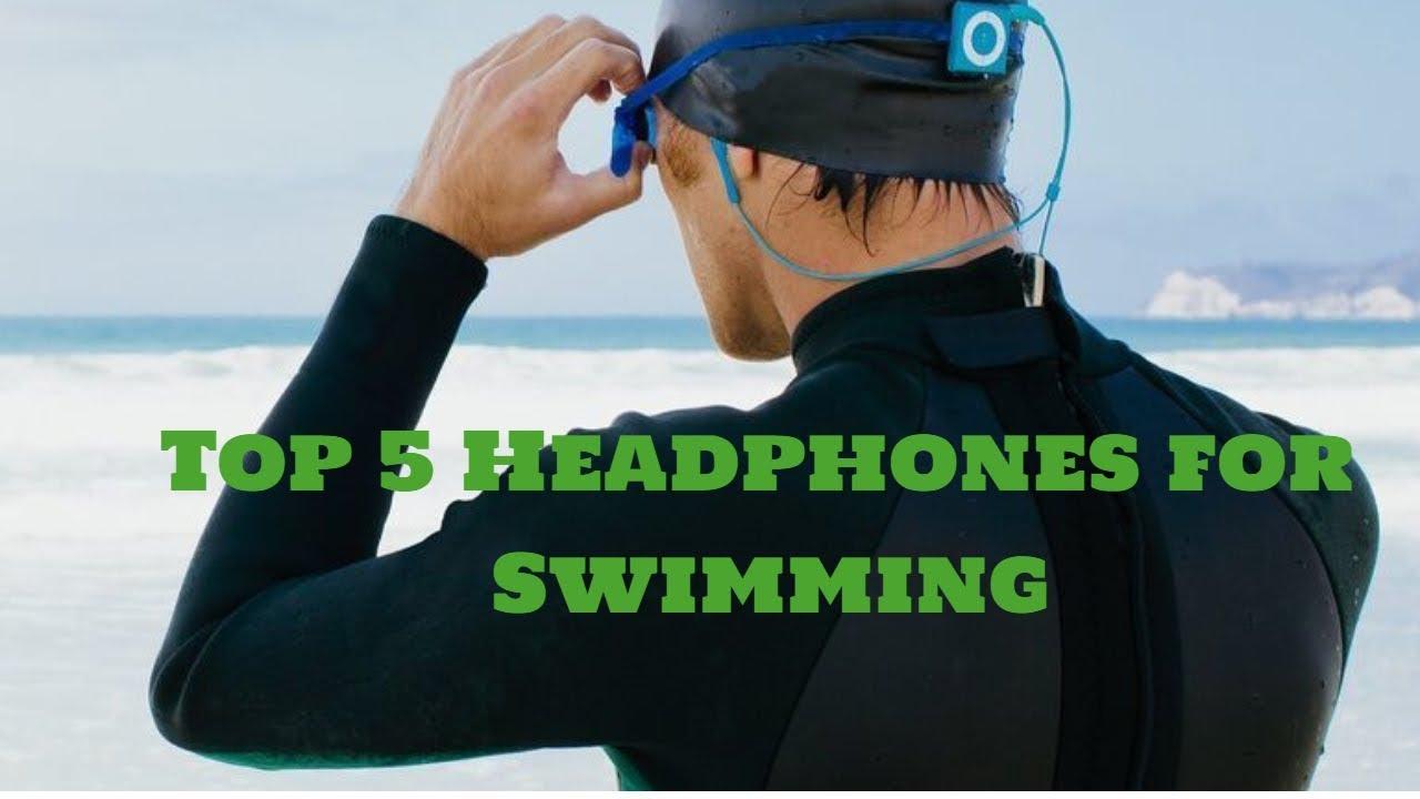 bafc315f8af Best headphones for swimming- Top 5 Waterproof headphones - YouTube