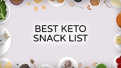 Best Keto Snack List