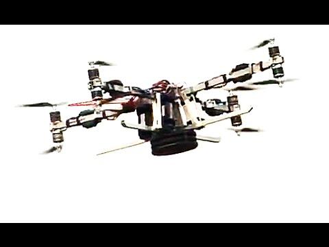 Дрон высокой грузоподъемности и дальности. 4 часа в воздухе с нагрузкой 10 кг.