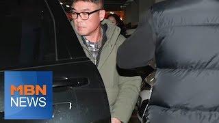 뉴스파이터-피의자 신분으로 경찰 출석한 김건모…질문엔
