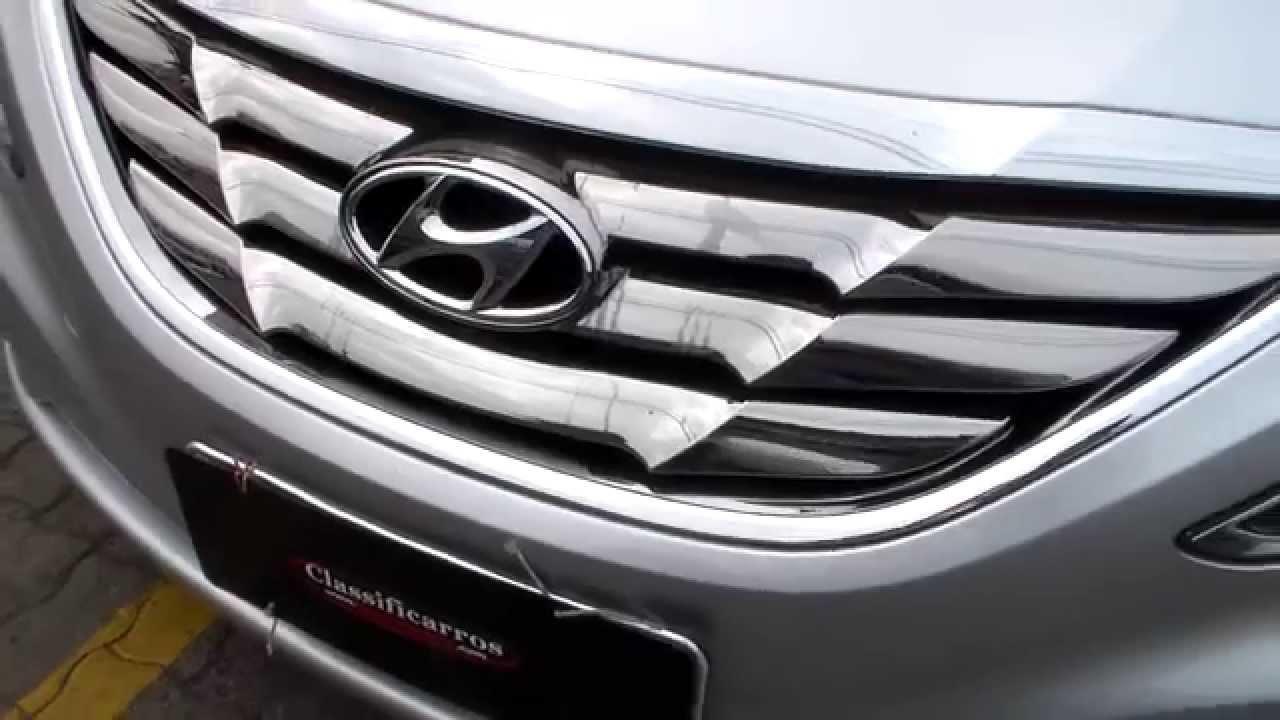 Hyundai Sonata Gls 2 4 16v Autom 225 Tico 2012 Youtube