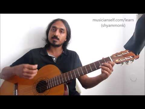 Beginners: How to Learn Guitar Using A R Rahman, Ilayaraja, Film Songs