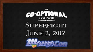The Co-Optional Lounge plays Superfight (Live at MomoCon) [Strong Language]