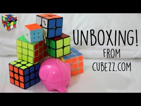 Kungfu Qinghong, Qiyi Cavs, Yuxin Mini Keychain, YJ Elephant + More! Unboxing [Cubezz]