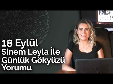 Sinem Leyla İle Günlük Gökyüzü Yorumu | 18 Eylül 2019 | Billur Tv