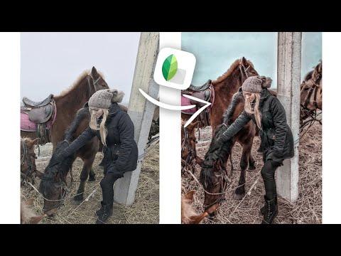ИСПРАВЛЕНИЕ ФОТО В ПРИЛОЖЕНИИ Snapseed / ОБРАБОТКА ФОТО ДЛЯ ИНСТАГРАМ