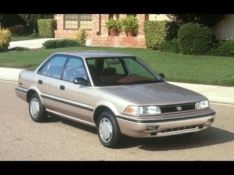 1991 toyota corolla start up and review 1 6 l 4 cylinder youtube rh youtube com 89 Toyota Tercel 89 Toyota Camry