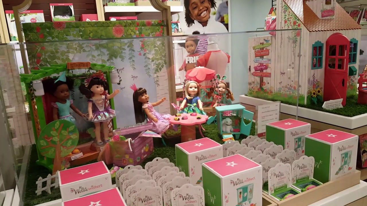 American Girl NYC Rockefeller Center Store Tour! YouTube