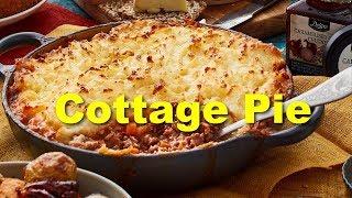 Английская Кухня.  Готовим  Cottage Pie.