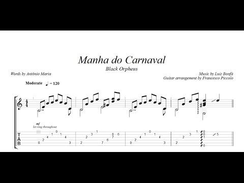 Fingerstyle Guitar - Manha do Carnaval (From Bossa Nova Collection Nr.5)