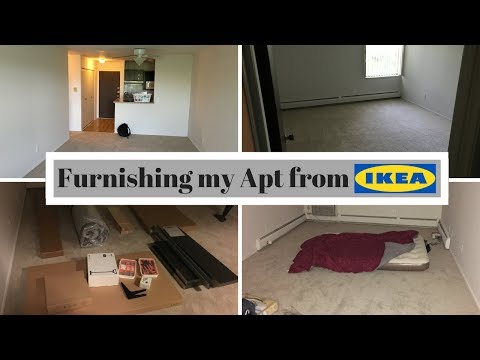 Furnishing My Apartment - Starting from the bottom (Part 1: Detroit) | Timelapse