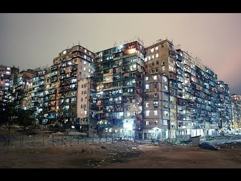 Amazing Hong Kong slum which was once home to 30,000 the most densely populated place on earth