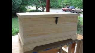 Handmade Sweater/blanket Chest, For Sale, American Made.............has Been Sold