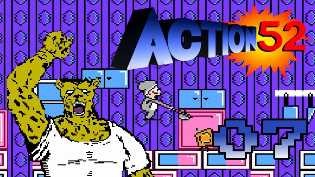 Action 52 Nes German Blind 100 07 Neue Level In Der Kuche