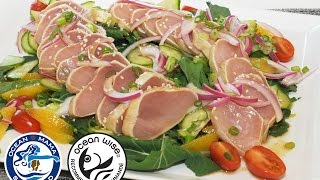 Ocean Wise BC Albacore Tuna Tataki Recipe