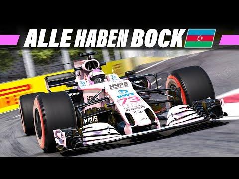 F1 2017 MEGA COOP #23 – Baku, Aserbaidschan GP Qualifying   Formel 1 2017 Gameplay German