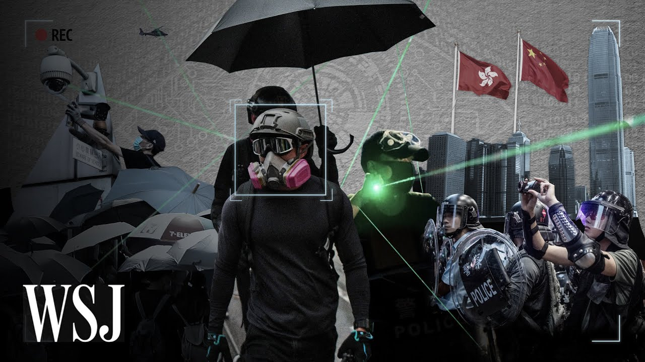 Download How Hong Kong Protesters Evade Surveillance With Tech | WSJ